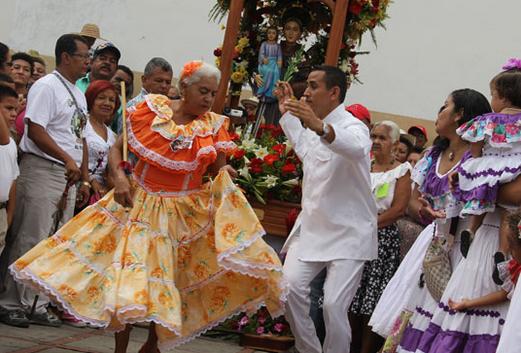 El Baile de Tamunangue en honor a San Antonio