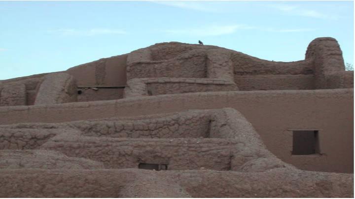 Edificaciones que datan de principios del siglo prehispánico