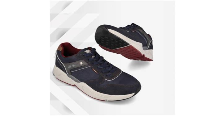 Detalles exclusivos de un calzado deportivo de altura