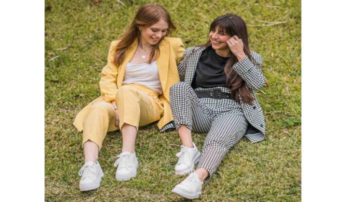 Los Sneaker femeninos son el calzado en tendencia